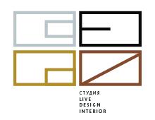 Брендинг. Live Design Interior